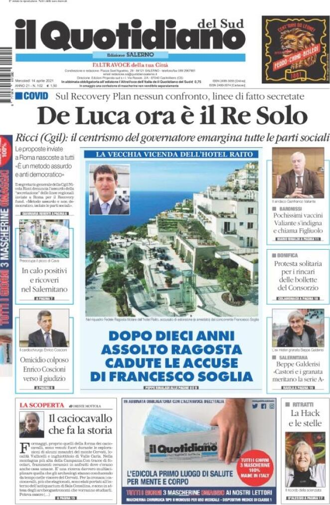 Il Quotidiano del Sud (Salerno)